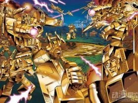 《变形金刚》35周年金色模型 黄金战士豪气十足