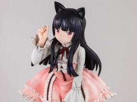 可爱!《我的妹妹哪有这么可爱!》黑猫等身大手办