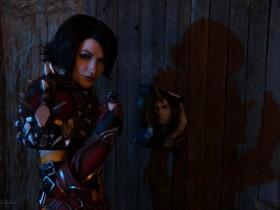 【cos】魔兽COS:月溪镇最后的迪菲亚 密谋进攻的凡妮莎