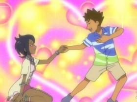 《精灵宝可梦:太阳&月亮》动画最新一集 小刚恋爱了