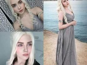 【cos】俄罗斯美女化妆术太高超 还原龙妈、小丑女堪比整容