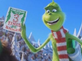 小黄人也要凑热闹 《绿毛怪格林奇》贴片短片预告公开